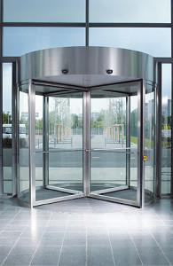 Karuselové dveře